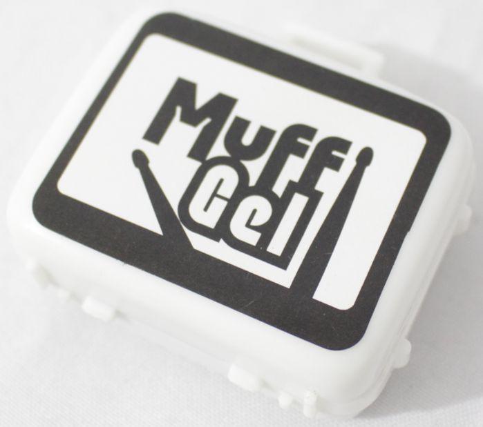 Muff GELL - GEL Abafador para Pele de Bateria e Percussão