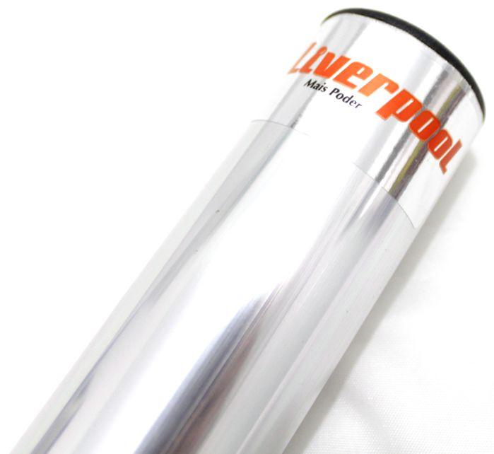 Ganzá Liverpool Aluminio Chocalho Médio 16 X 3,8 CM - GC-160