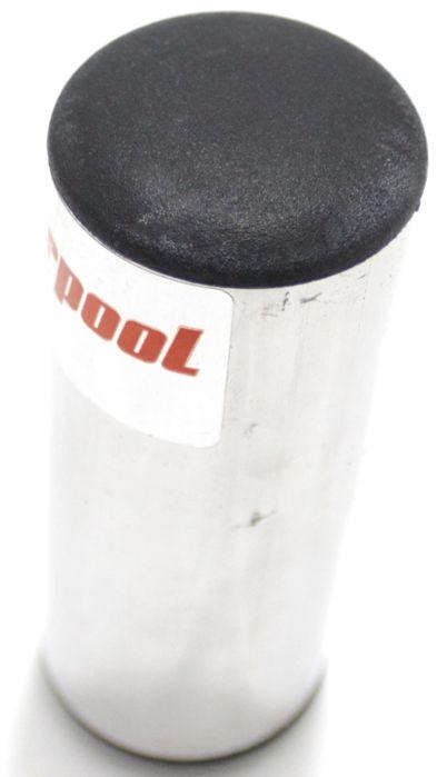 Ganzá Liverpool Aluminio Chocalho Pequeno 9 X 3,8 CM - GC-090