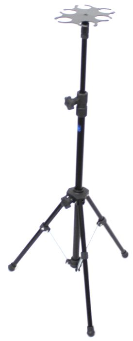 Pedestal de Microfone Visão para 6 Microfones - Suporte Tipo Descanso