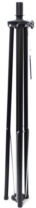 Pedestal para Caixa Acústica Visão Suporte Tripé em Ferro Preto VPCA-SHORT - ATE 45KG