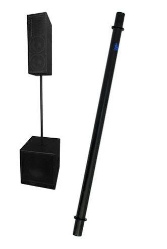 Pedestal para Caixa Acústica Visão - Prolongador de SUB para Caixa - Preto VPROL