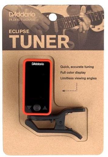 Afinador Eletrônico Eclipse Tuner D'addario cromático clip-on