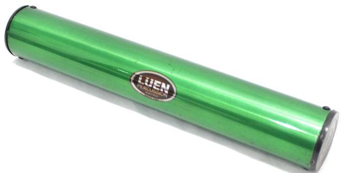 Ganzá Luen Chocalho Alumínio Grande 30 X 5 CM - Verde - 19019VD