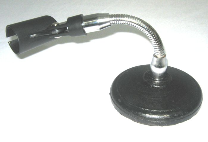 Mini Pedestal Microfone Flexivel de Mesa - Visão VPS1F
