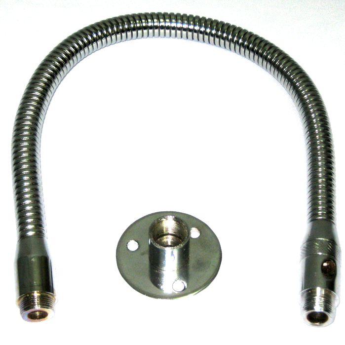 Pedestal de Microfone Fixo de Mesa - Tubo Flexivel VPS5F Visão
