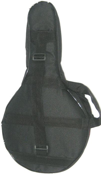 Capa CRBAG EXTRA Luxo para Banjo, NO Formato,  Ziper Lateral, Bolso Frontal e UMA ALÇA para OMBRO