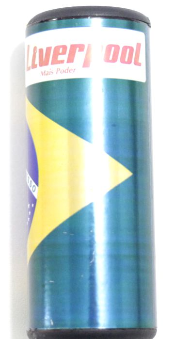 Ganzá Brasil Liverpool Chocalho Pequeno 9 X 4 CM - GBR-090