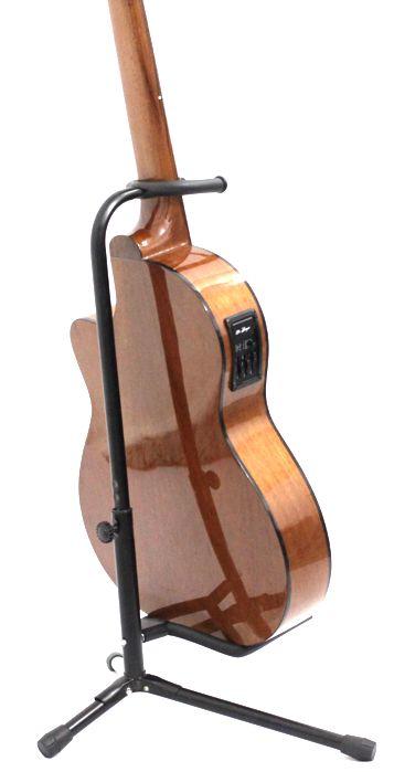 Suporte de Chão para Instrumento com Apoio NO Braço Violão Guitarra Baixo e Outros - Custom - (apenas o Suporte)
