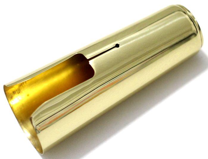 Cobre Boquilha de SAX Tenor em Metal Dourado Custom