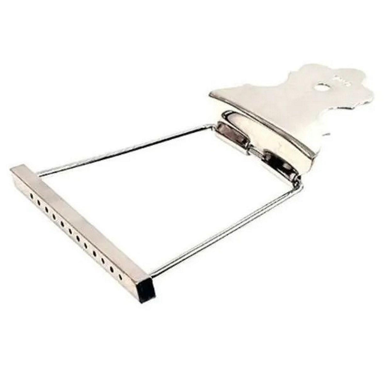 Afirmador de Cordas Cordal para Violão 12 Cordas - Deval 906 Cromado