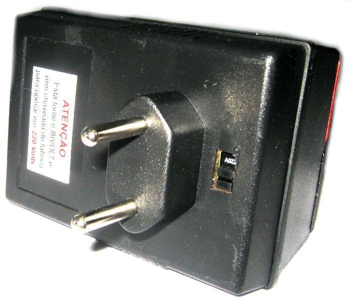 Auto Transformador de Tensão - Fonte - 30W em 110V para 220V - 60W em  220V para 110V