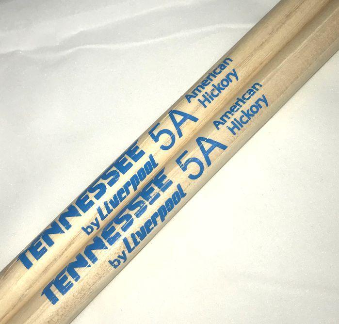 Baquetas 5A em Hickory Tennessee BY Liverpool Ponta de NYLON TNHY 5AN - Pacote com 5 Pares