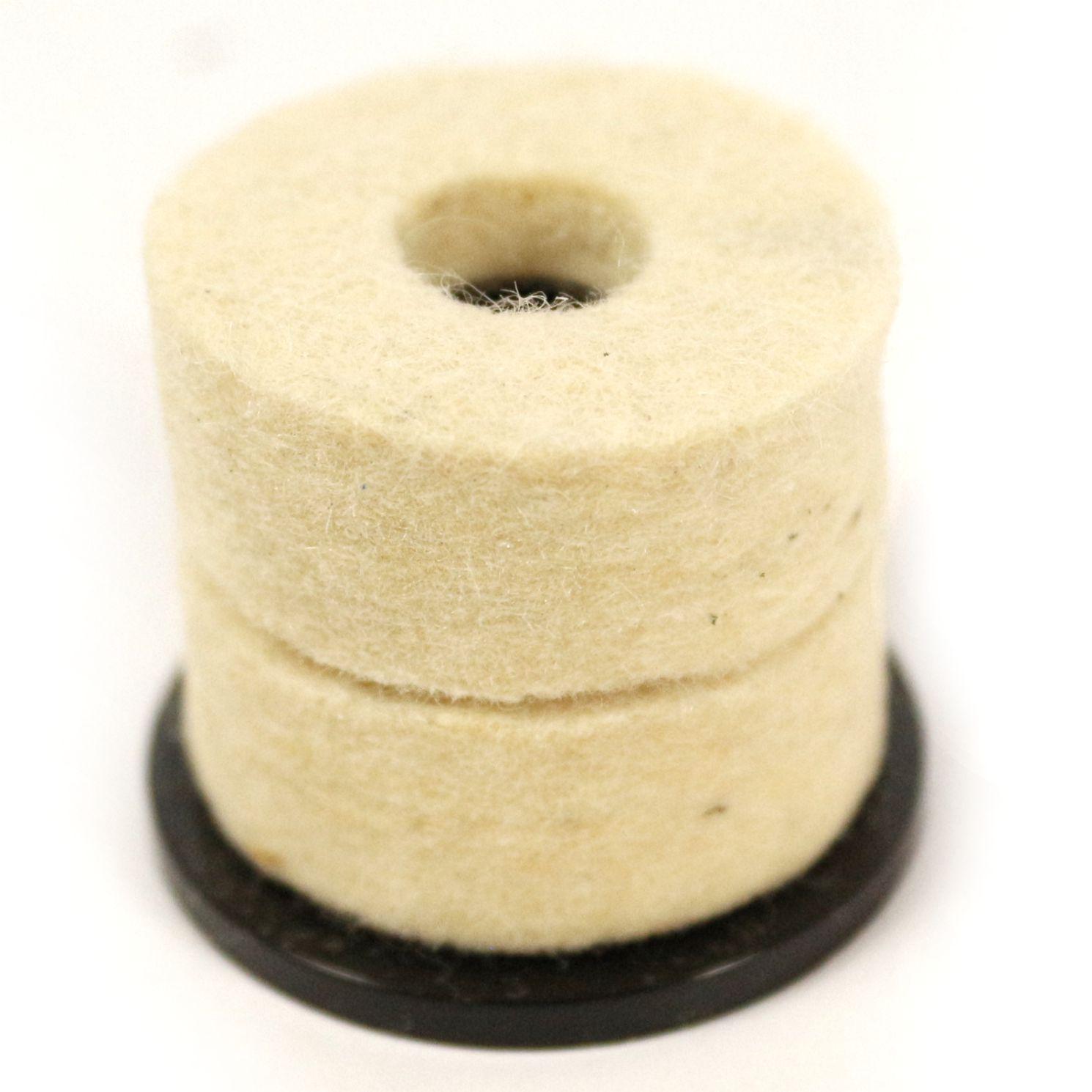 Base de Plástico DM com Feltro para Prato de Bateria