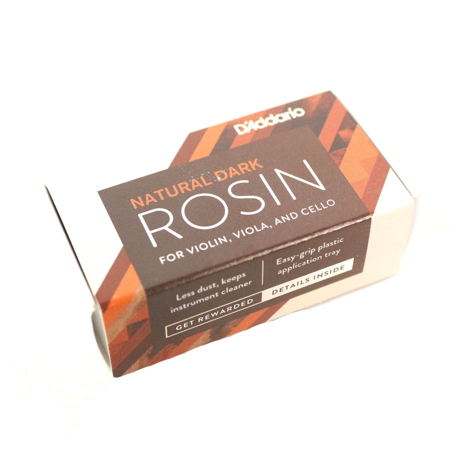 Breu Rosin Natural DARK D´addario para Violino, Viola e Cello