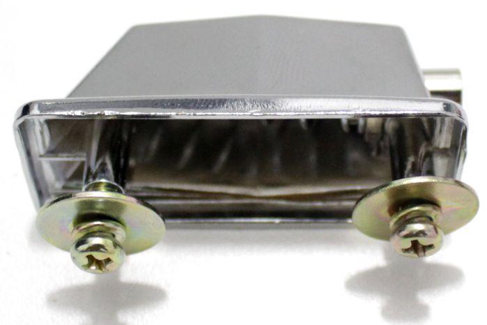 Canoa de TOM de Bateria Padrão 2 Furos Turbo - PEL-3 - Pacote com 3 Unidades
