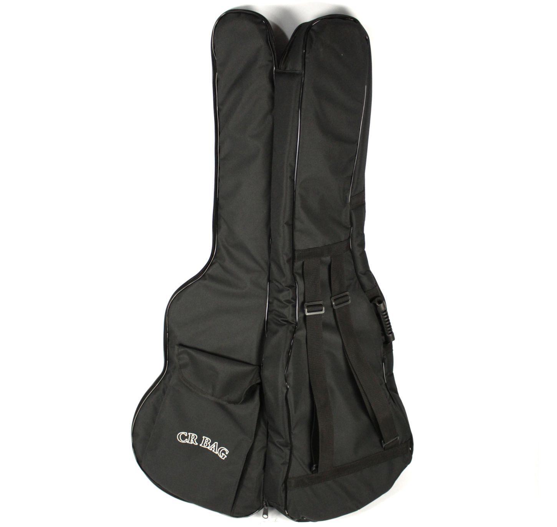 Capa CRBAG EXTRA Luxo para Contra Baixo NO Formato Ziper Lateral Bolso Frontal e ALÇA para Mochila - Apenas a BAG - CRBAG