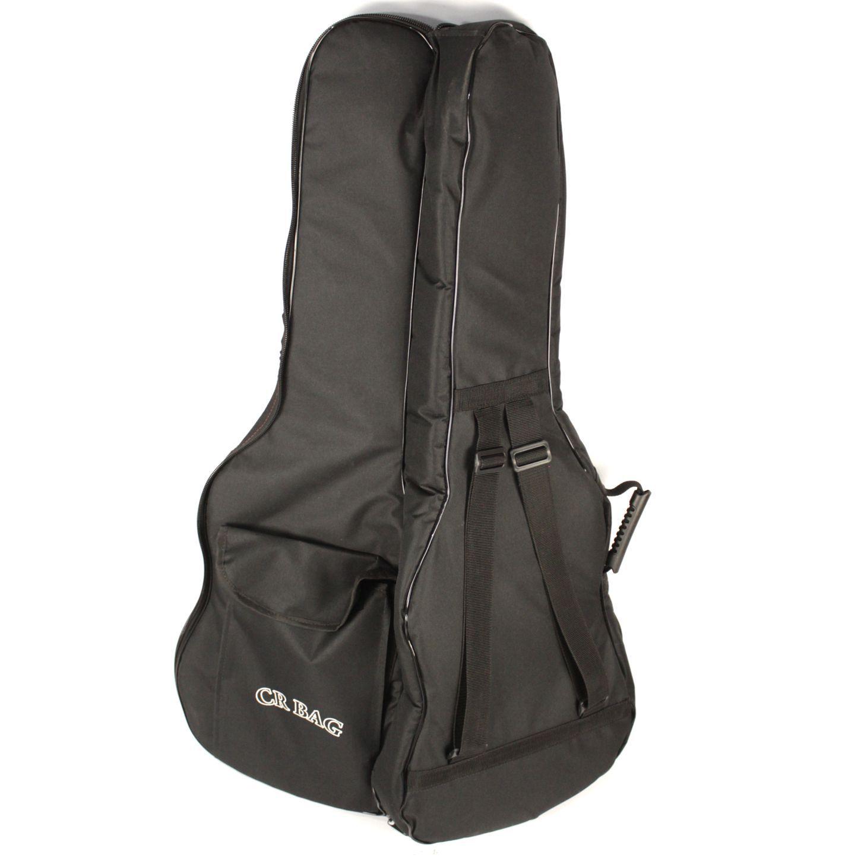 Capa CRBAG EXTRA Luxo para Guitarra NO Formato Ziper Lateral Bolso Frontal e ALÇA para Mochila CRBAG