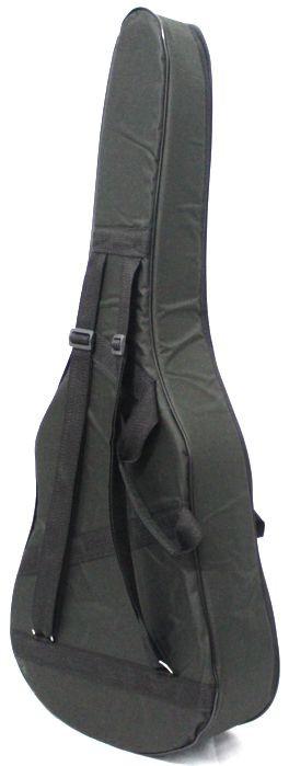 Capa JS EXTRA Luxo para Violão, NO Formato, Ziper Lateral, Bolso Frontal e ALÇA para Mochila