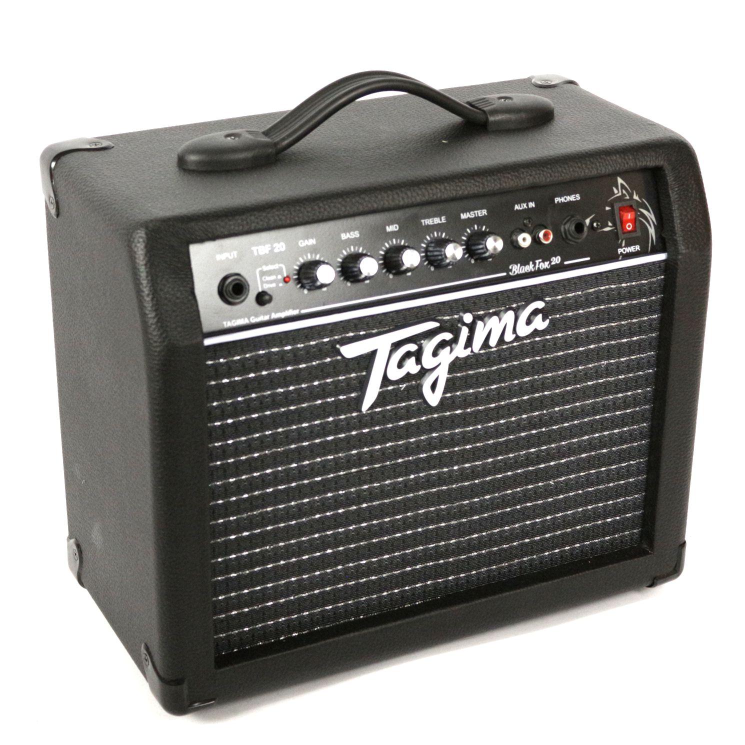 Cubo Amplificador Tagima BLACK FOX 20W TBF20-BK para Guitarra