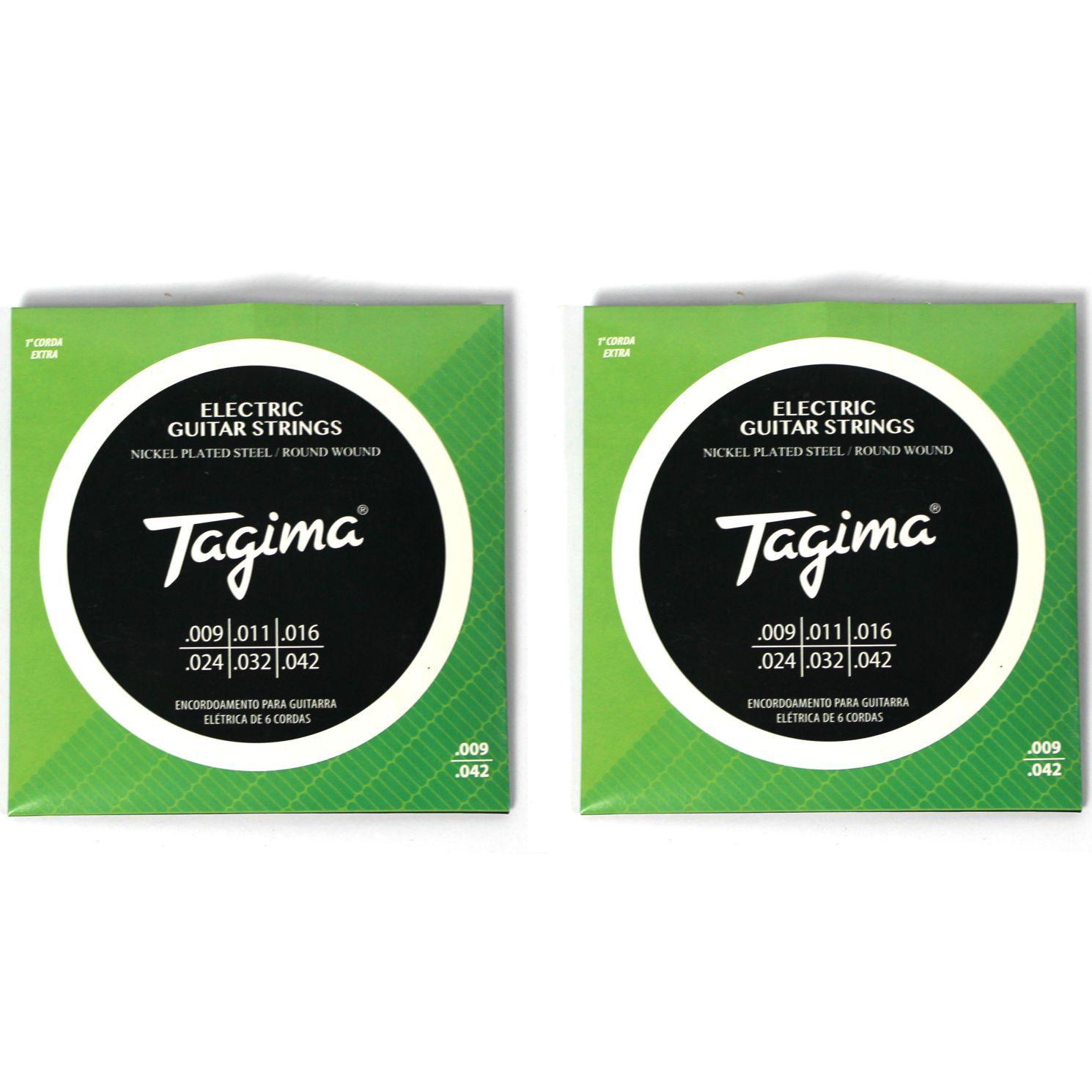 Encordoamento para Guitarra 009 Tagima - TGT-009 - 02 Unidades