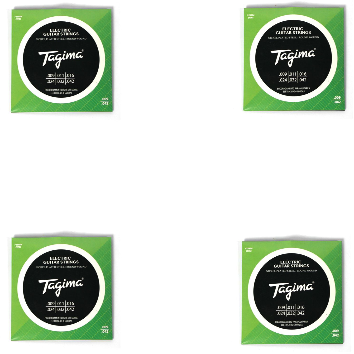 Encordoamento para Guitarra 009 Tagima - TGT-009 - 04 Unidades
