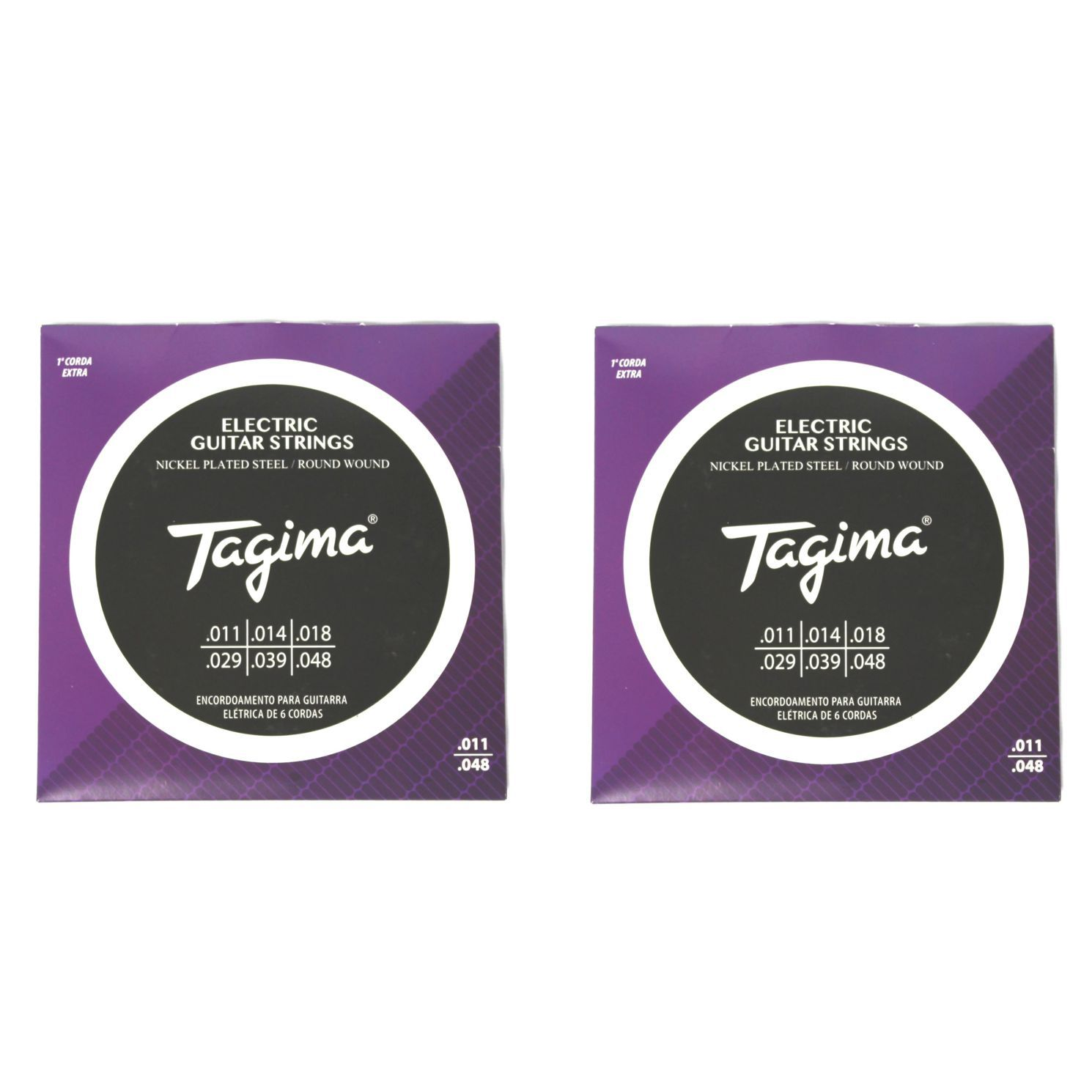 Encordoamento para Guitarra 011 Tagima - TGT-011 - 02 Unidades