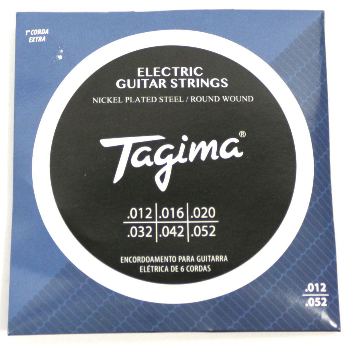 Encordoamento para Guitarra 012 Tagima - TGT-012