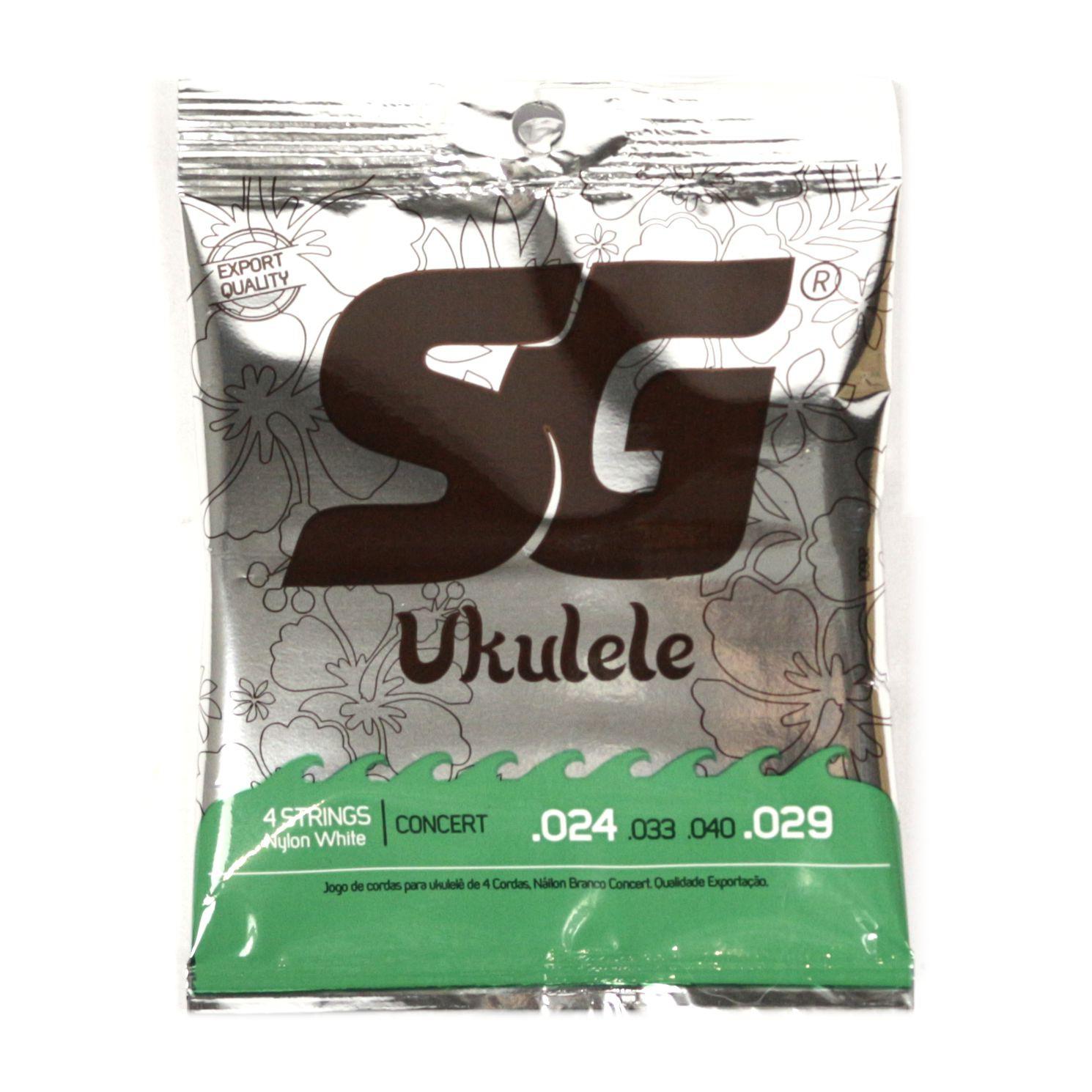 Encordoamento SG STRINGS Ukulele Jogo Cordas de NYLON para Ukulele Concert