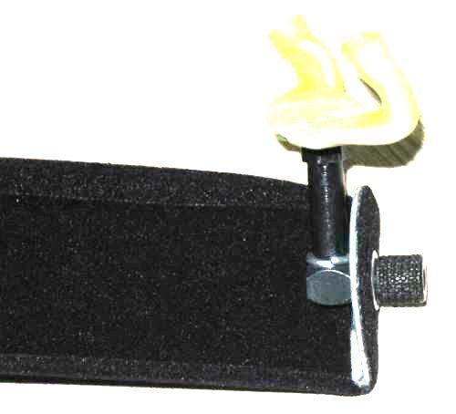 Espaleira de Violino Fixa Almofadada HBL - 3/4
