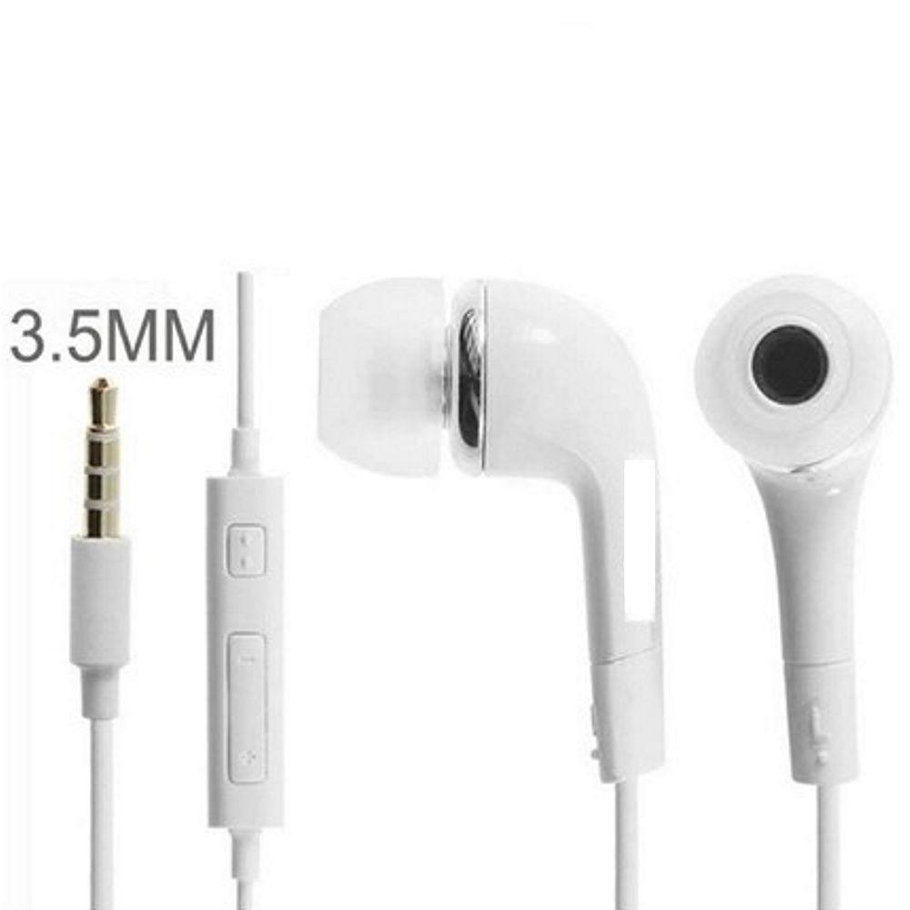 Fone de Ouvido DM Auricular Stereo P2 Branco