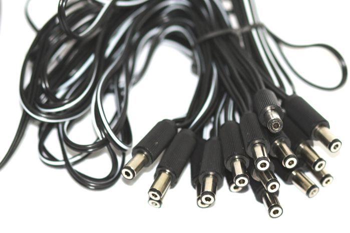 Fonte para 16 Pedais com 16 PLUGS 9VDC 300MA Plugue Interno Negativo - ADP-915/16