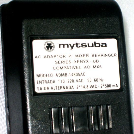 Fonte para Mesa de Som da Behringer 1002 / 1202 - Mytsuba - ADMB-14805AC