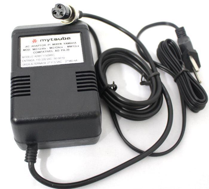 Fonte para Mesa de Som da Yamaha Compativel AO PA-20 - Mytsuba - ADMY-175094AC