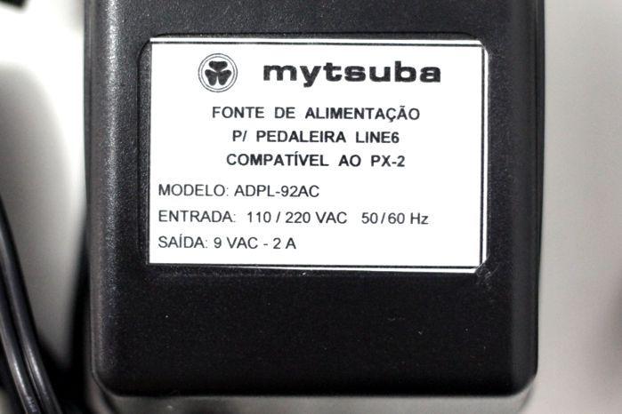 Fonte para Pedaleira Line 6 9VAC 2A - Mytsuba - Compatível AO PX-2 - ADPL-92AC