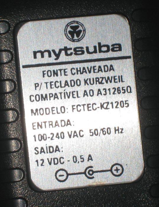 Fonte para Piano Kurzweil SP76 SP88 SP88X da Marca Mytsuba - FCTEC-KZ1205