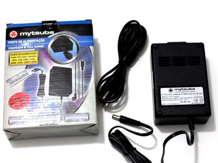 Fonte para Teclado Yamaha - 16 VDC - 2,5A - Compatível PA300 - FCTEC- YA1625