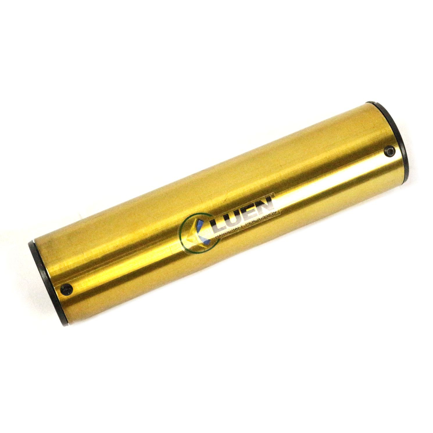 Ganzá Luen Chocalho Dourado Médio 20 X 5 CM - 19018DOU