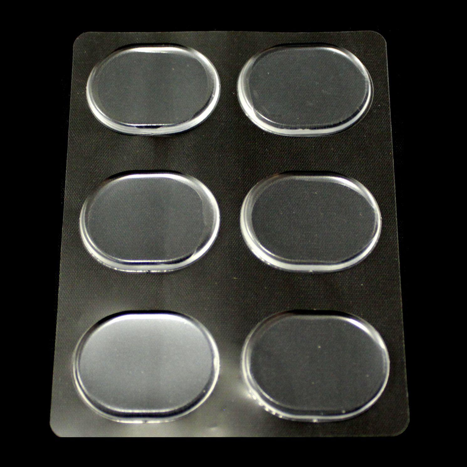 Gel Abafador Spanking para Pele de Bateria e Percussão - 06 Unidades