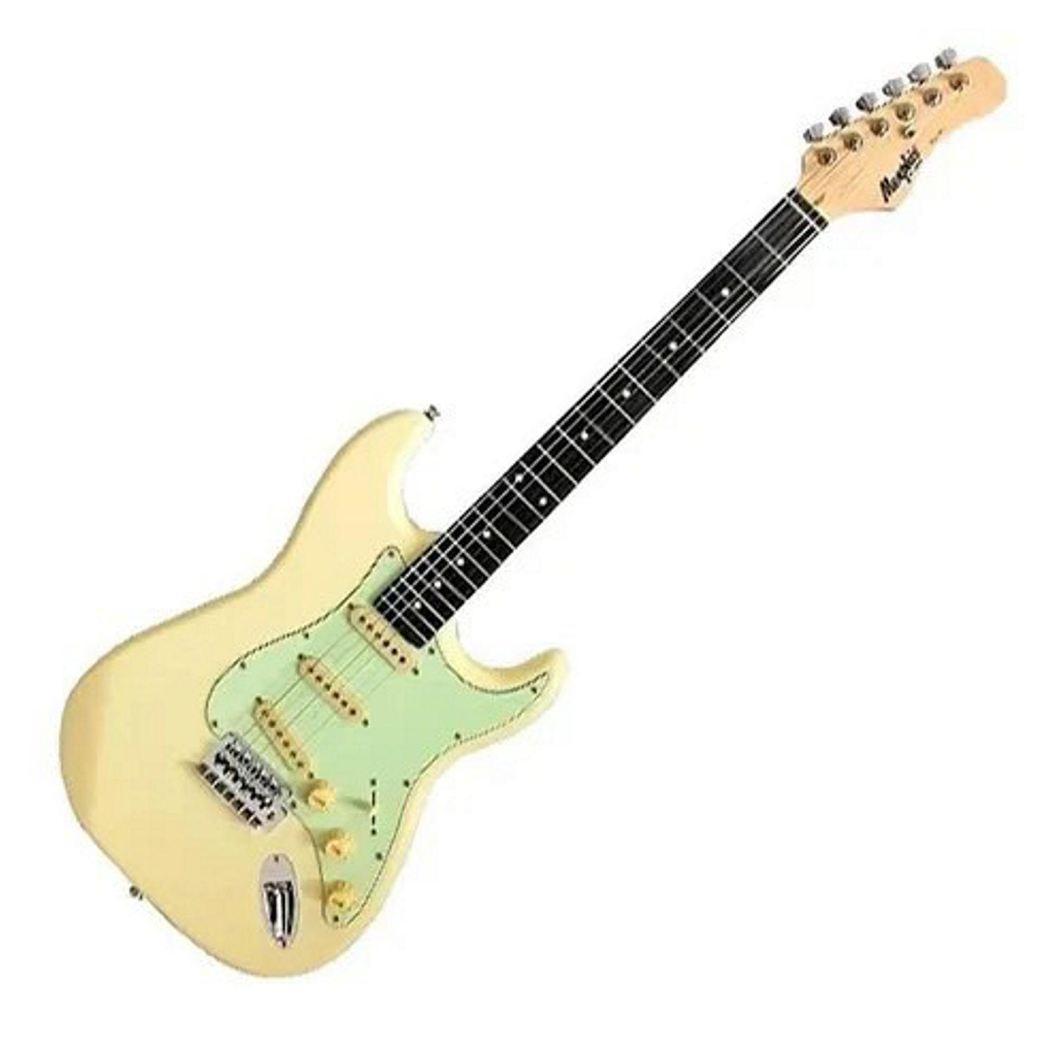 Guitarra Memphis BY Tagima OLYMPIC White Satin - MG-30OWS