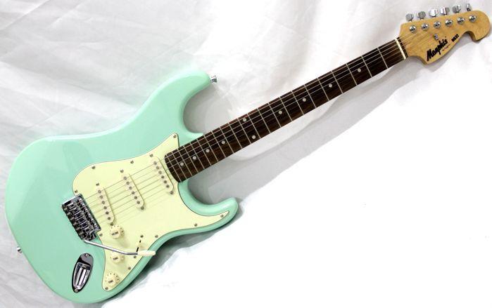 Guitarra Memphis BY Tagima Strato Verde Vintage MG-32 SG