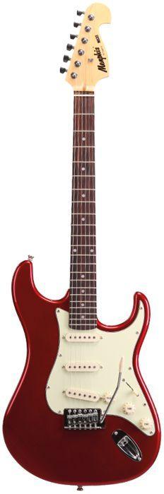 Guitarra Memphis BY Tagima Strato Vermelho Metálico MG-32 MR Metalic RED