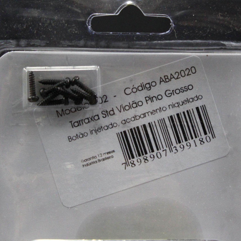 Jogo de Tarraxas Pino Grosso para Violão 6 Cordas NYLON - Deval ABA2020 202