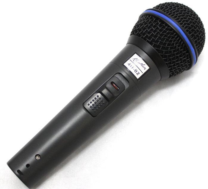 Microfone Kauthon 4H-02 Profissional Dinâmico Vocal e Instrumento