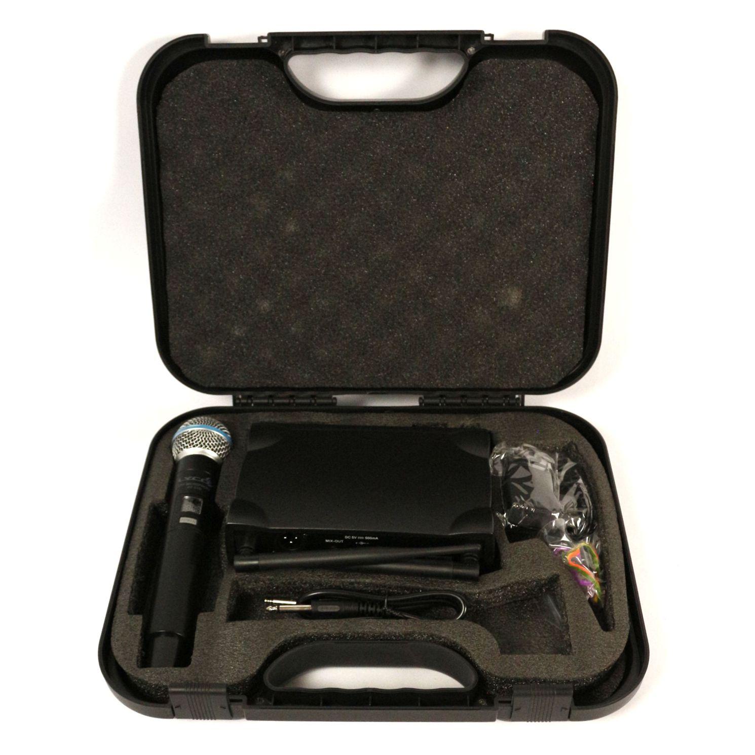 Microfone sem Fio de Mão UHF LYCO - UH01-M