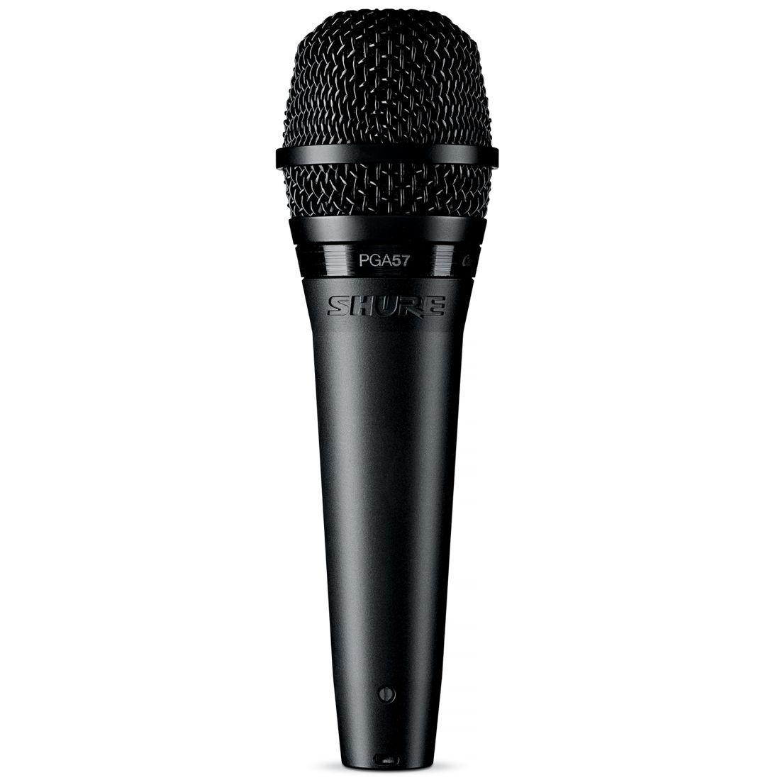 Microfone Shure Dinâmico Cardioide para Amplificador de Guitarra e Metais e Tambores - PGA57-LC