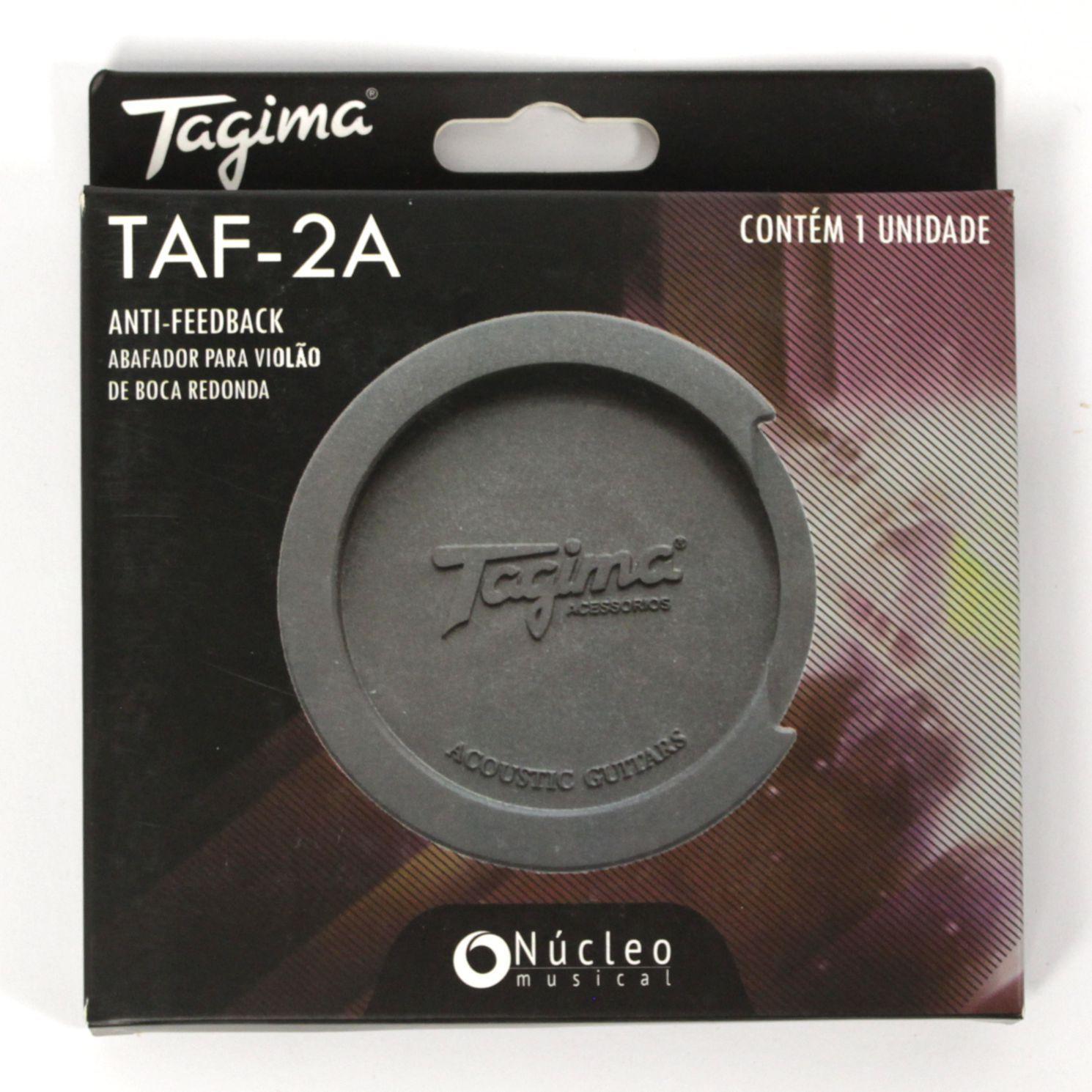 No Feedback Tagima em Borracha TAF-2A  ANTI-FEEDBACK para Violão FOLK