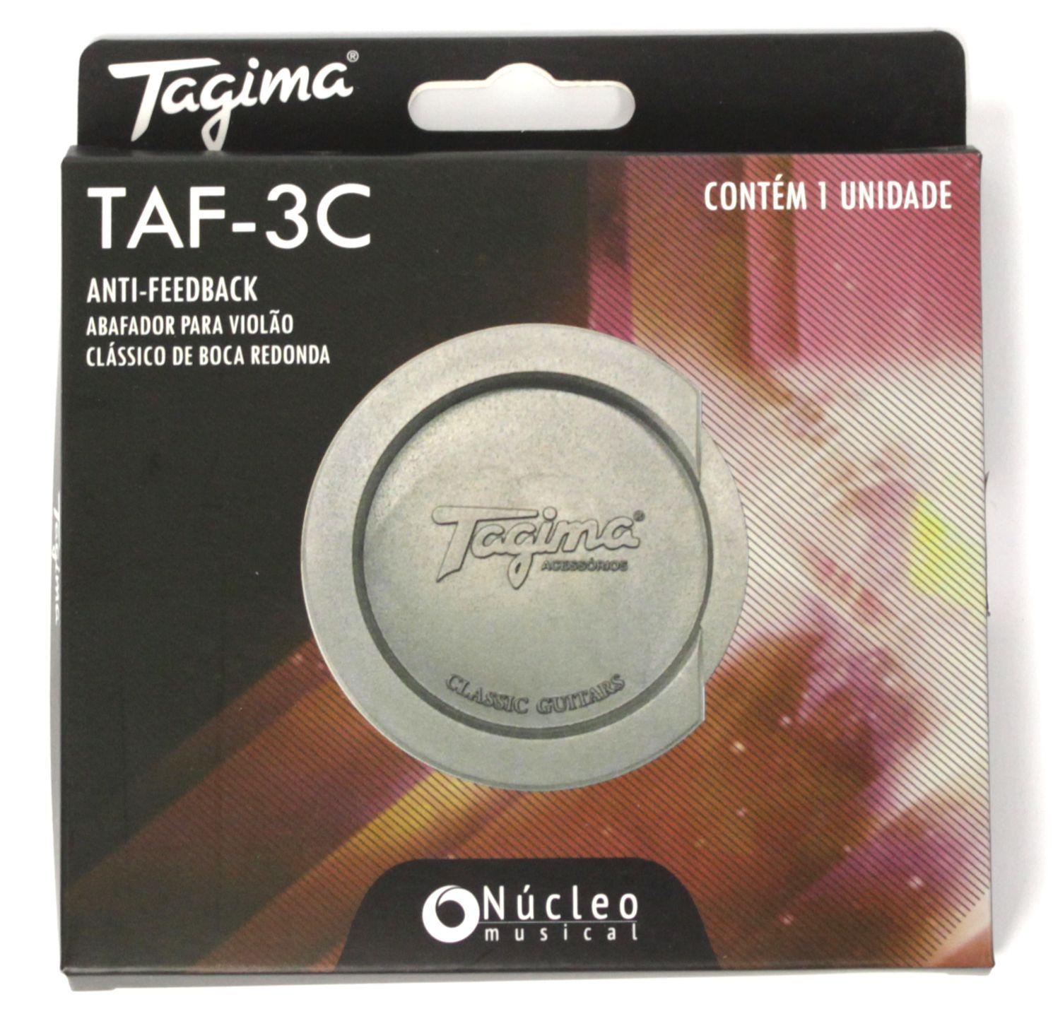 No Feedback Tagima em Borracha TAF-3C ANTI-FEEDBACK para Violão clássico