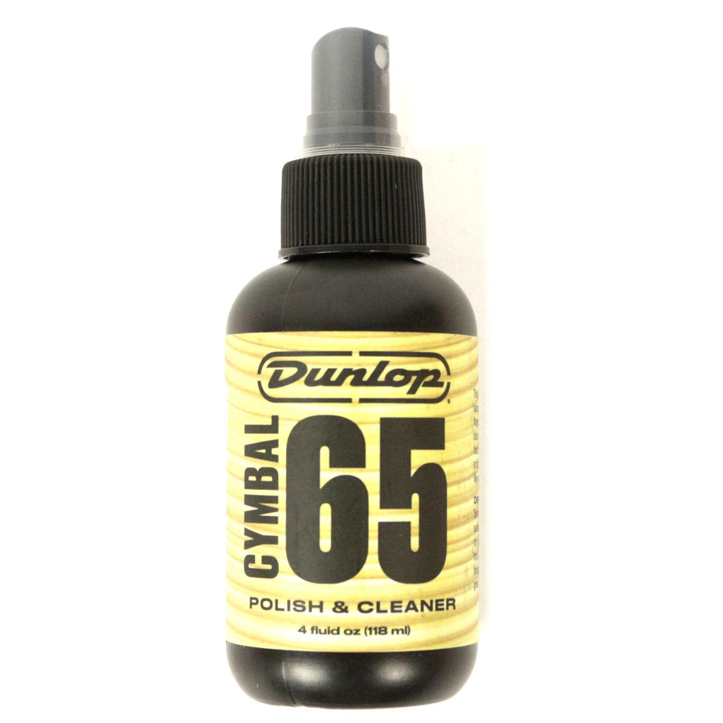 óleo Limpador e Polidor para Pratos de Bateria Dunlop CYMBAL 65