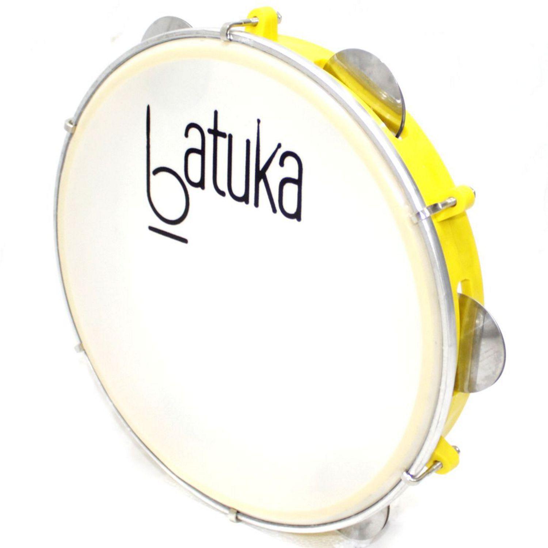 Pandeiro Batuka Luen 10 Pele Leitosa ARO ABS 60045S Amarelo